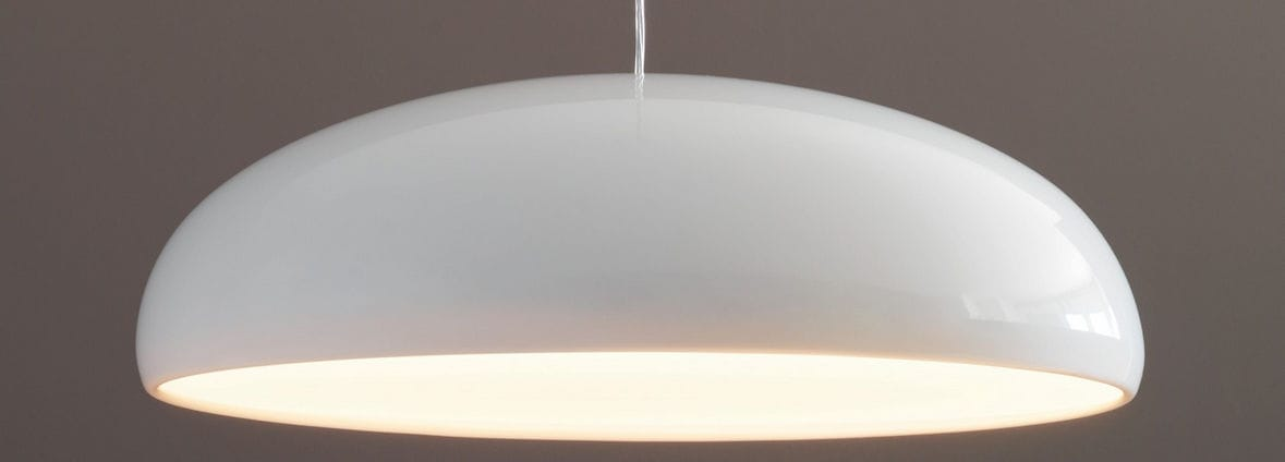 Pendant lamp / contemporary / polycarbonate / halogen PANGEN by Historical  Archive FontanaArte ...