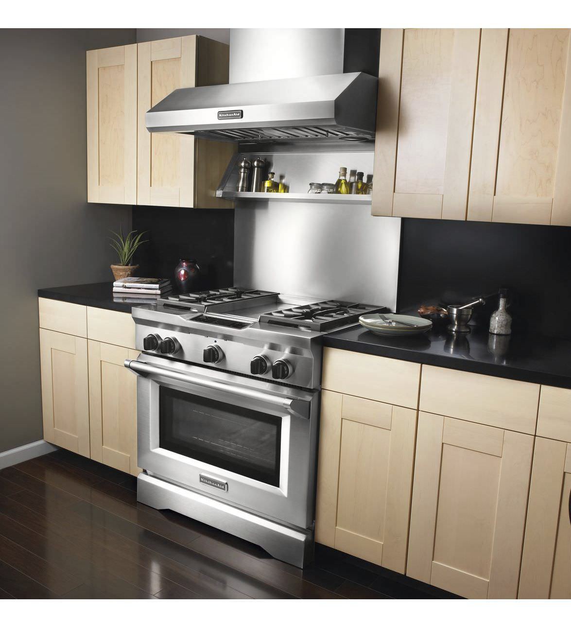 Gas Range Cooker / Electric / Dual Fuel KDRU763VSS KitchenAid ...