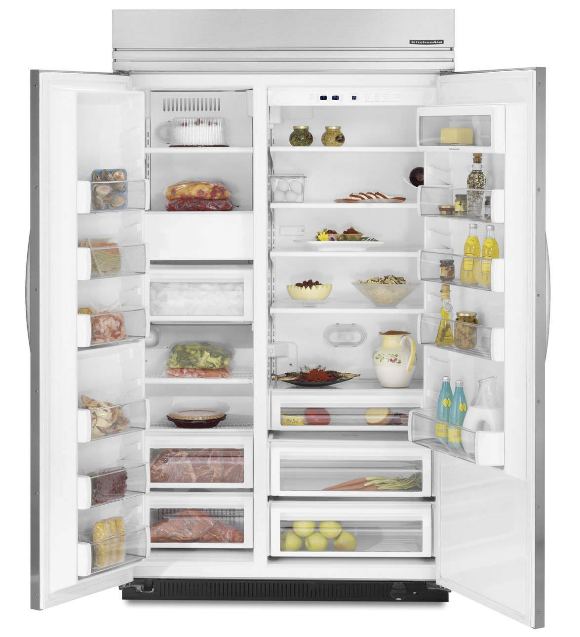 Delicieux American Refrigerator / Wooden / Built In   KSSO42FTX