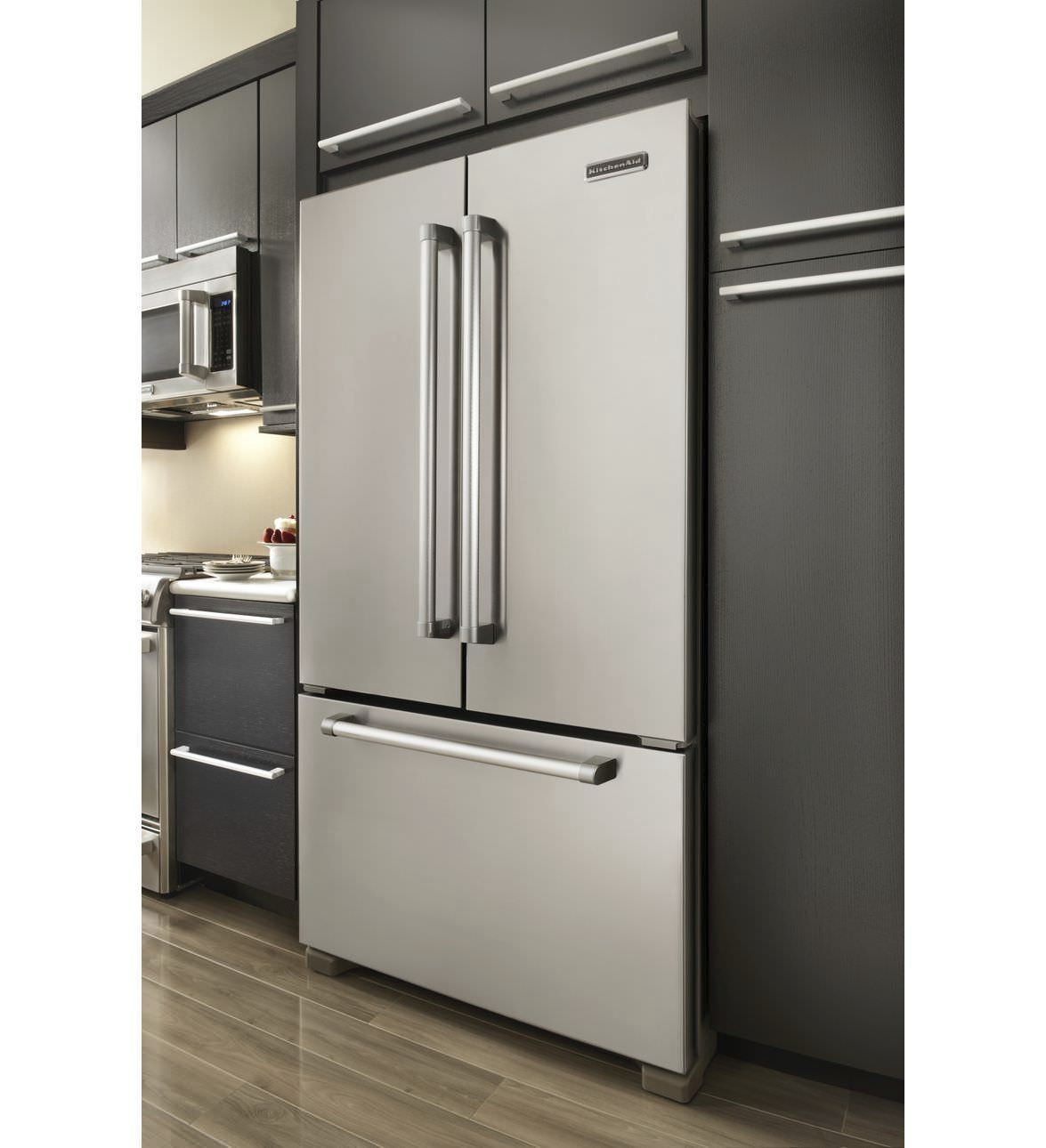 Residential Refrigerator Freezer / American / Stainless Steel /  Energy Efficient KFCP22EXMP KitchenAid ...