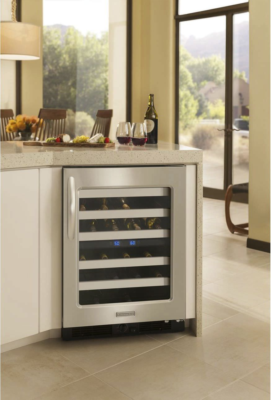 Residential Wine Cabinet / Built In / Undercounter / Metal ...