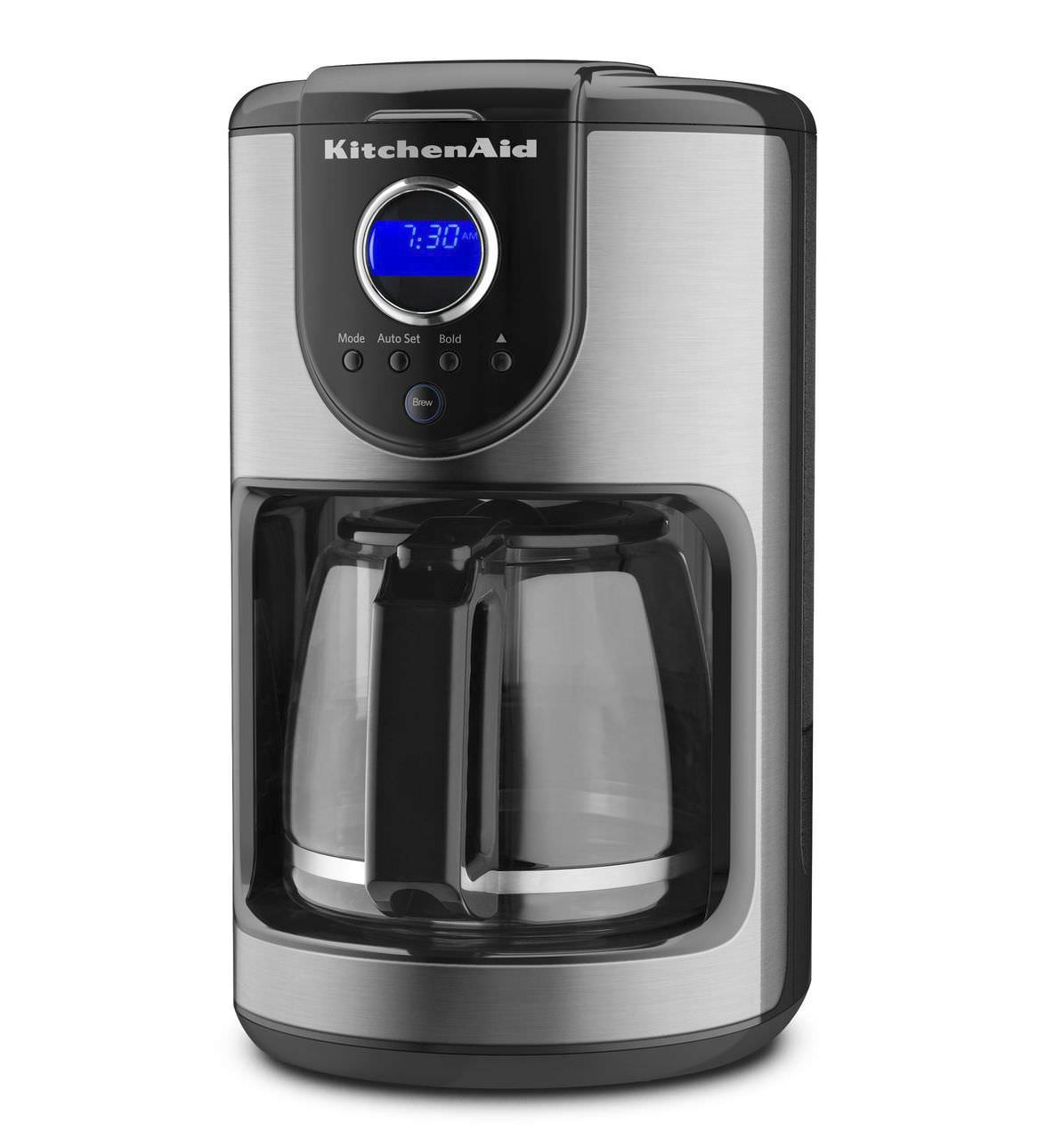 Delightful ... KCM111OB KitchenAid Filter Coffee Machine / Manual   KCM111OB
