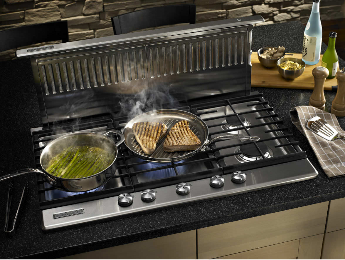 ... Gas Cooktop KFGS366VSS KitchenAid