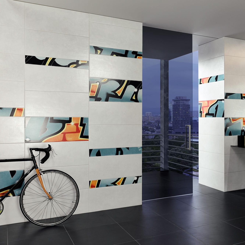 Indoor Tile Bathroom Wall Sandstone Graffiti