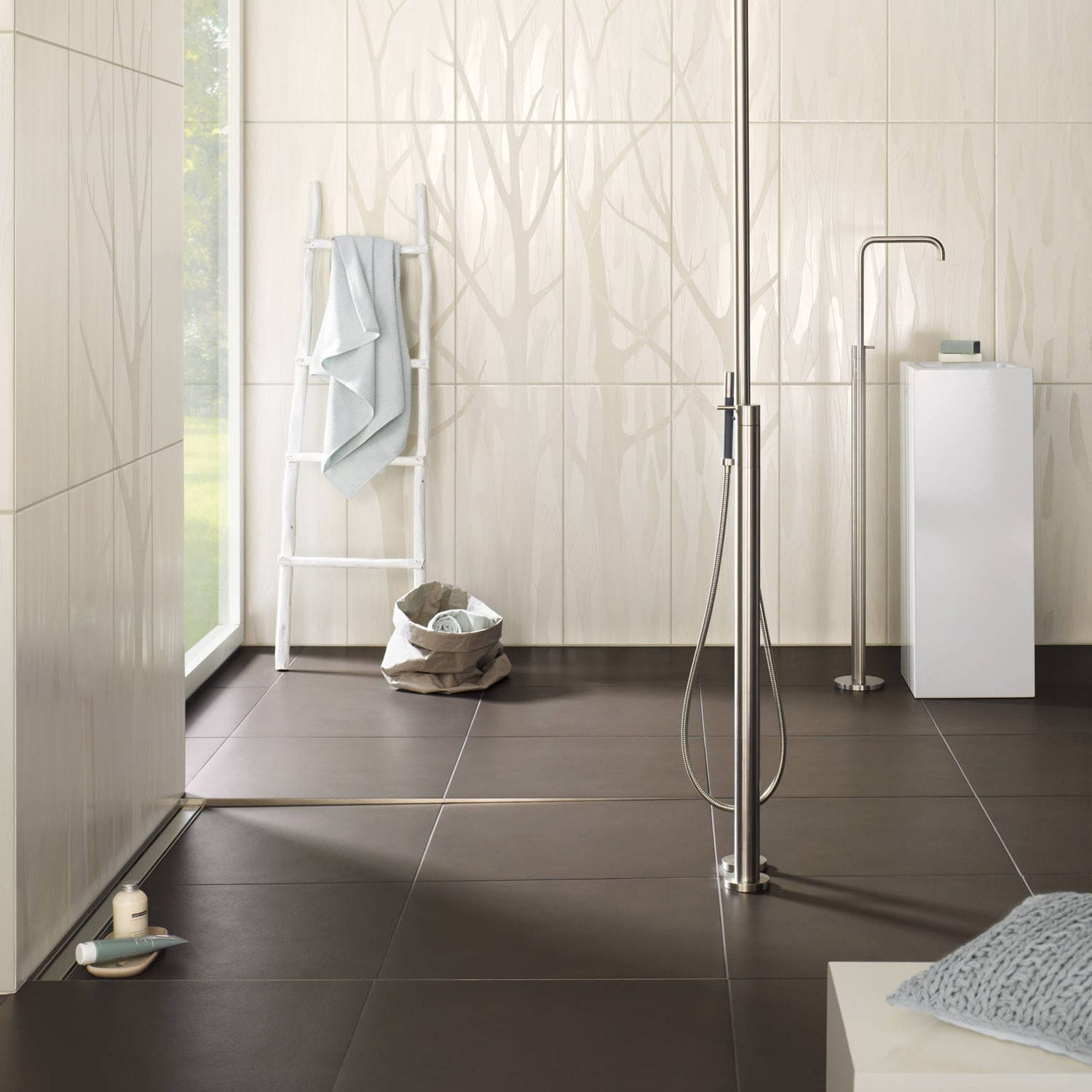 Indoor Tile Bathroom Wall Sandstone Silk