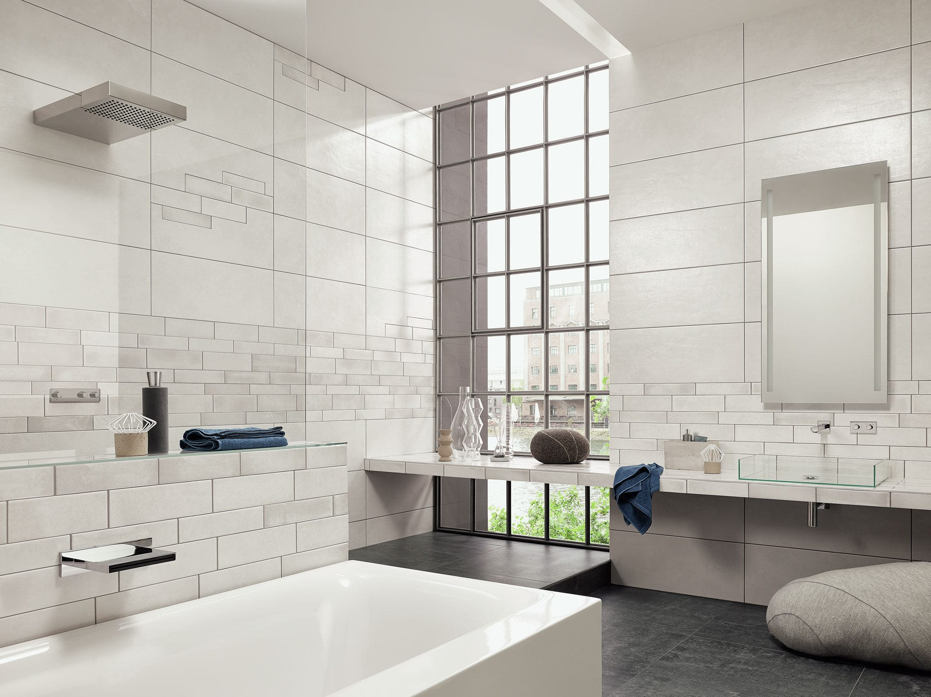 Graffiti wall tiles -  Bathroom Tile Wall Sandstone Plain Graffiti Steuler Fliesen