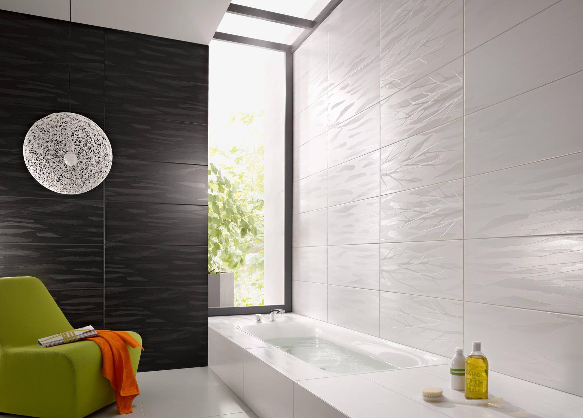 Indoor tile / bathroom / wall / sandstone - SILK - Steuler-Fliesen
