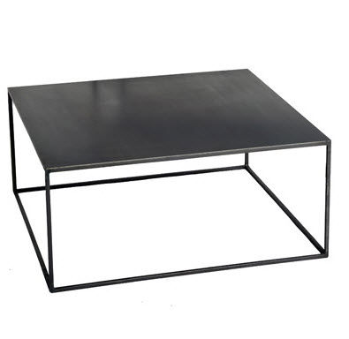 Contemporary Coffee Table Metal Not Specified Custom