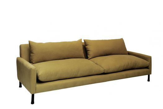 Contemporary sofa fabric 3seater with washable removable