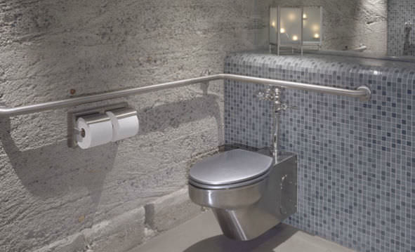 wallhung toilet stainless steel contour neometro - Wall Hung Toilet