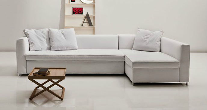 Modular Sofa Bed Contemporary Fabric