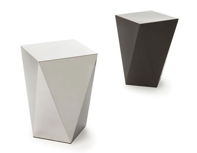 Contemporary Side Table / Glass / Rectangular   9500  43 By Gianluigi  Landoni