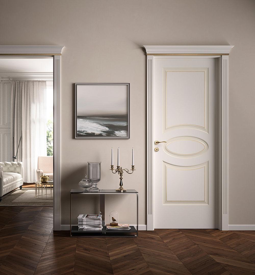 Indoor door / swing / wooden - KEVIA / 8 - FerreroLegno