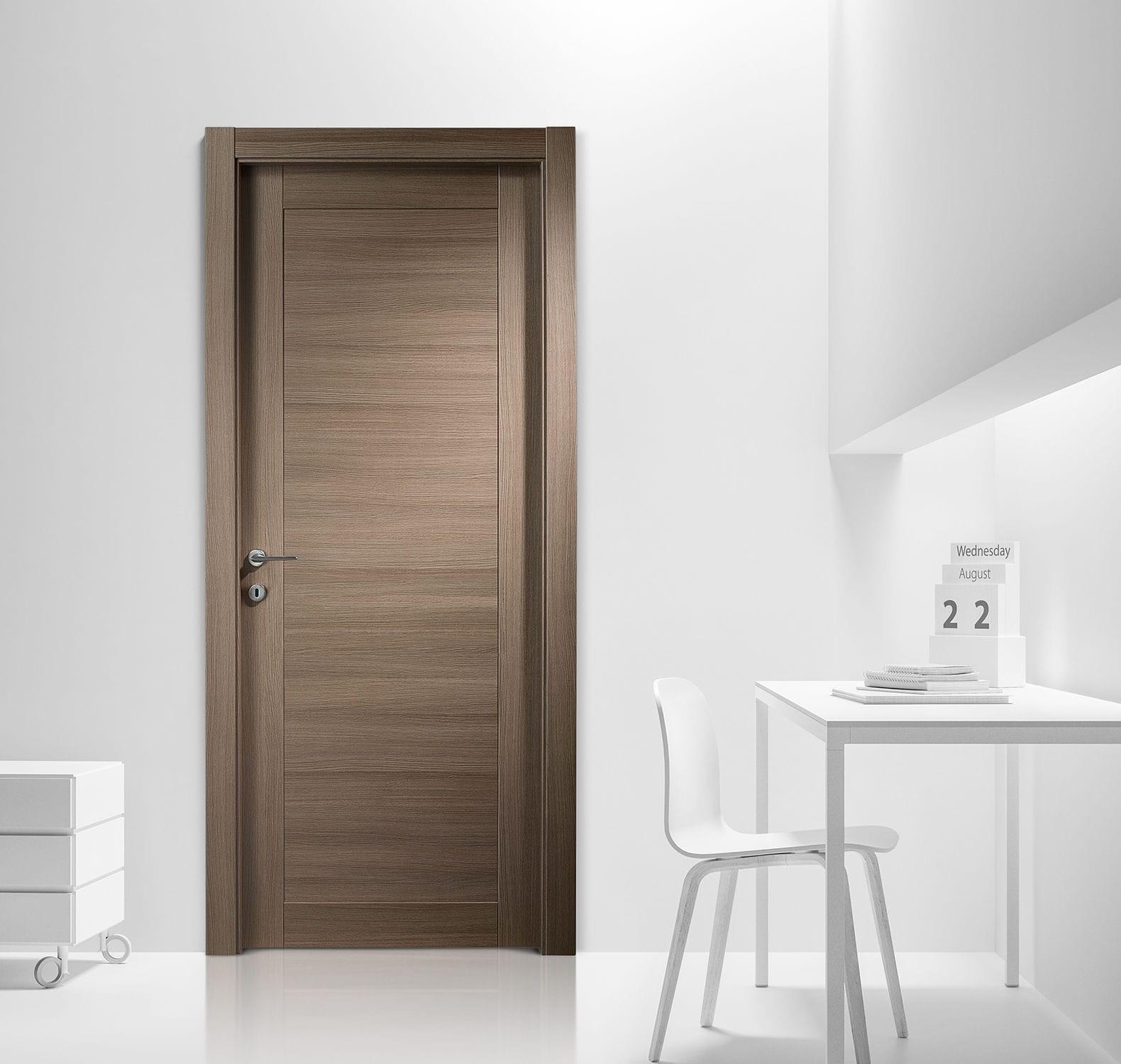 Indoor Door / Swing / Wooden / Laminate   AREA/2