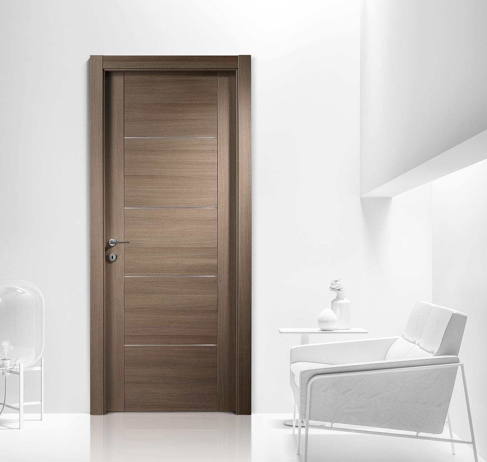 Bathroom Interior Door Interior Door Swing Wooden Laminate Area 4 Ferrerolegno