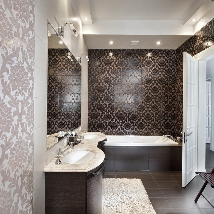 Indoor tile bathroom wall porcelain stoneware new baroque indoor tile bathroom wall porcelain stoneware dailygadgetfo Image collections