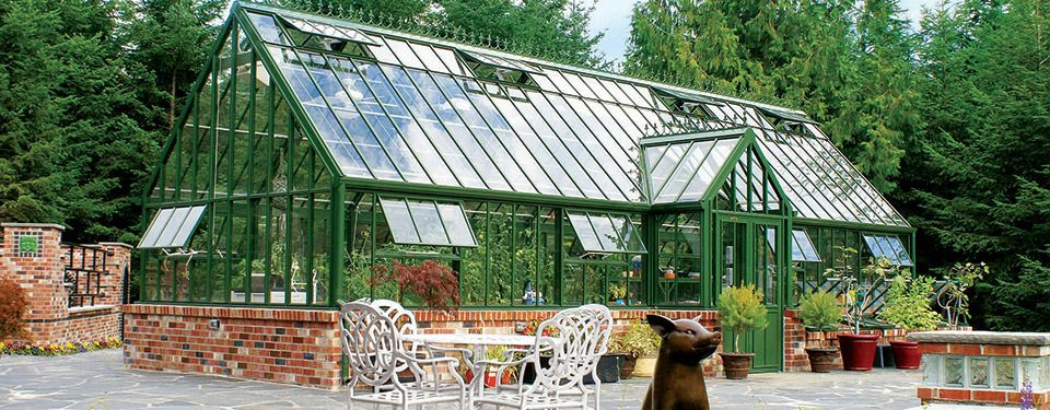 Aluminum Greenhouse / Residential   VICTORIAN GRAND MANOR
