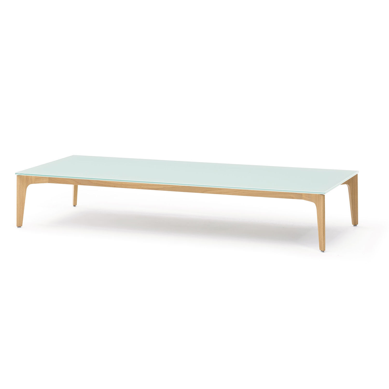 Contemporary coffee table glass rectangular ELM by Jehs