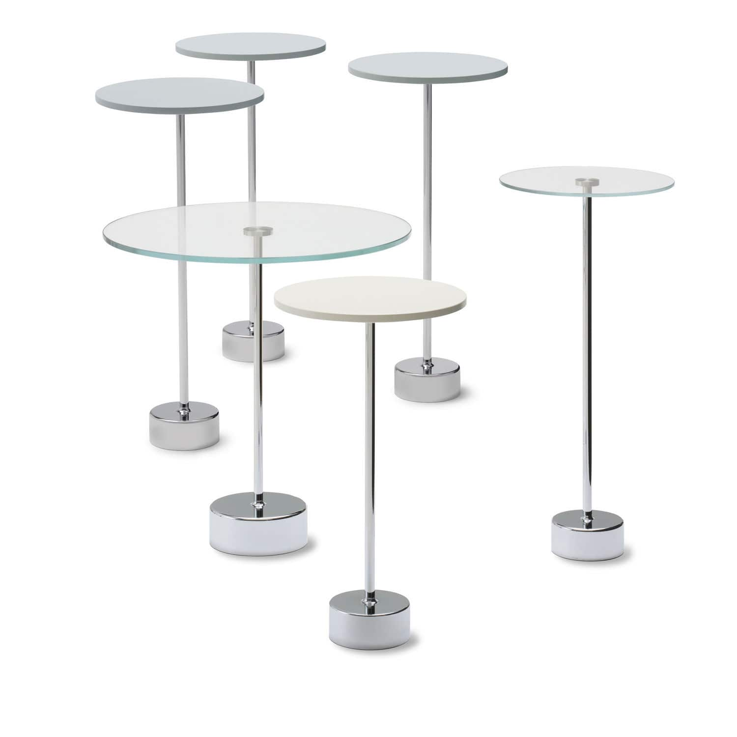 Glass Round Side Table Side Table Contemporary Glass Round Tablo Cor