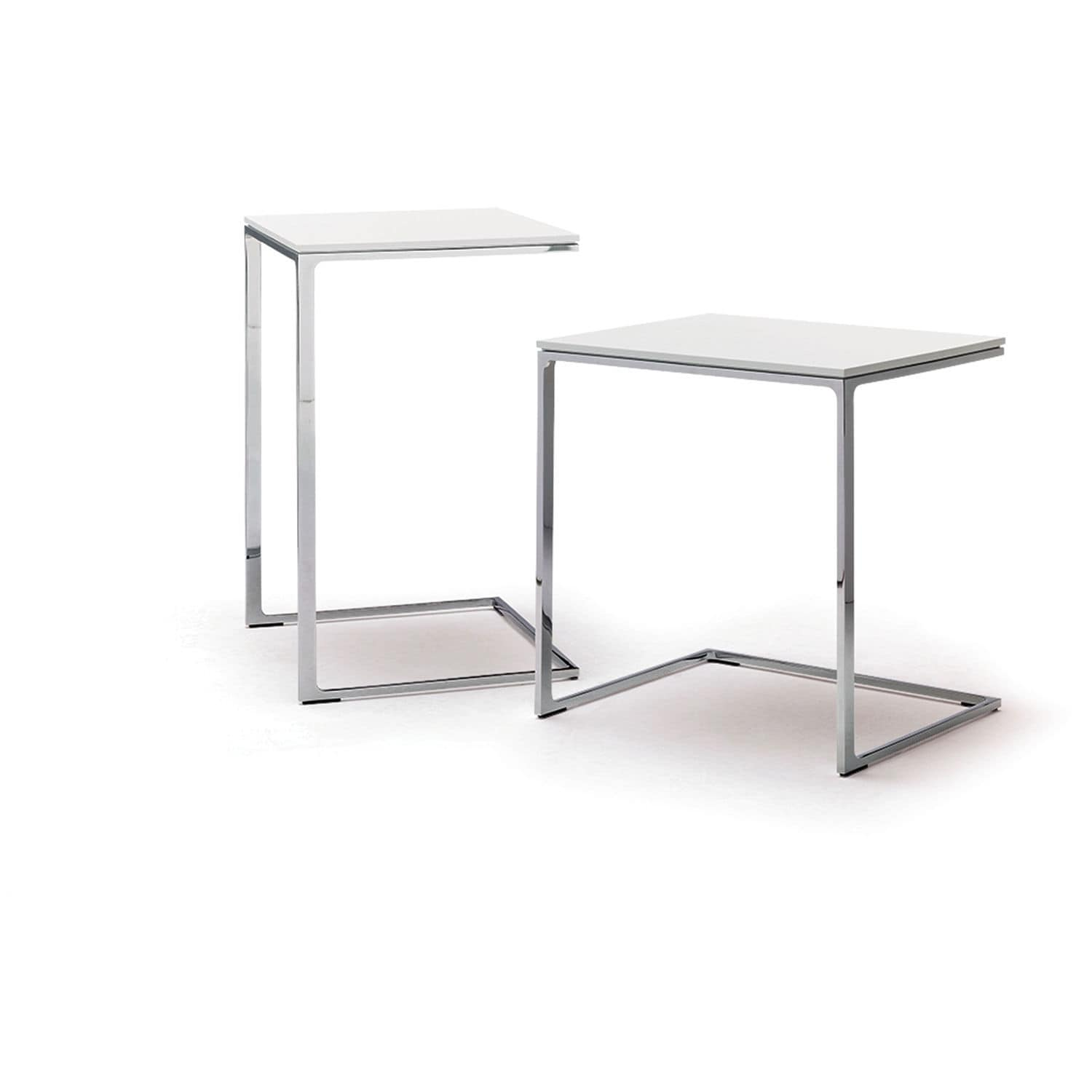 Contemporary Side Table / Steel / Rectangular / White MELL C By Jehs U0026 Laub  ...