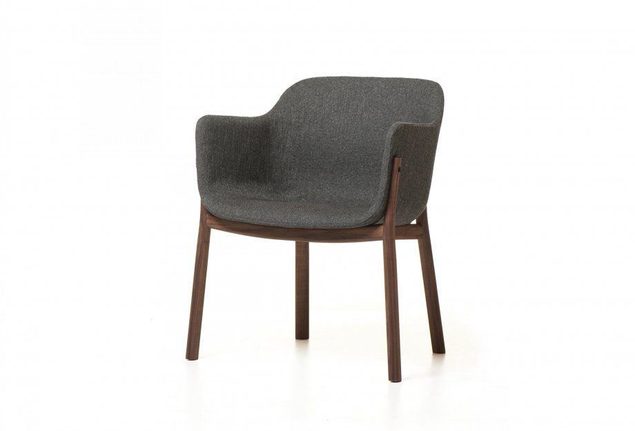Charmant Contemporary Dining Chair / Upholstered / Wooden   388 PORTO By Matthew  Hilton