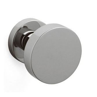 Contemporary door knob brass LINK P200 by Piero Lissoni