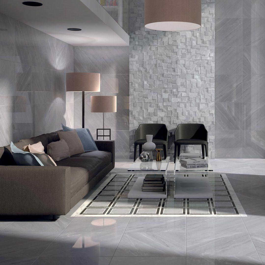 Indoor Tile Wall Floor Porcelain Stoneware Deluxe Marca