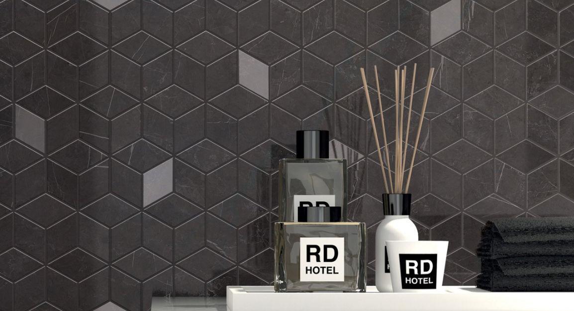Indoor tile / wall / floor / porcelain stoneware - DELUXE ...