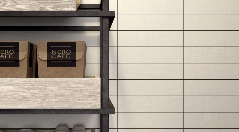 Indoor tile / wall / porcelain stoneware / plain - TONE ...