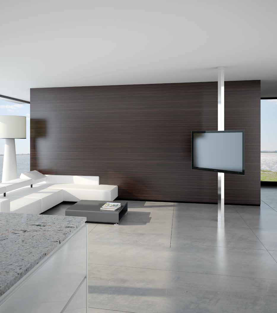 Contemporary Tv Stand Swivel Floor To Ceiling