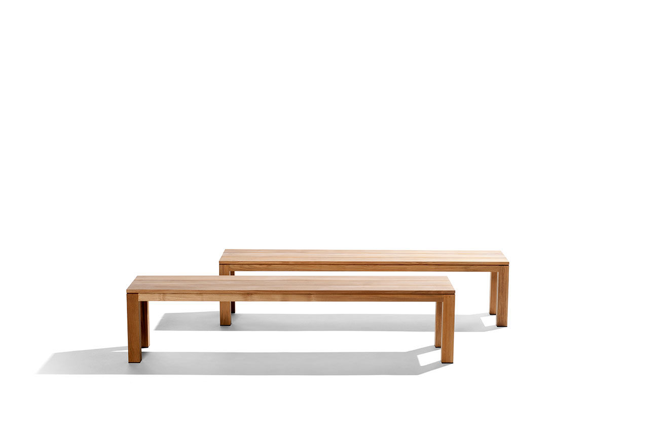 garden bench  contemporary  teak  kos by studio segers  tribÙ -  garden bench  contemporary  teak kos by studio segers tribÙ