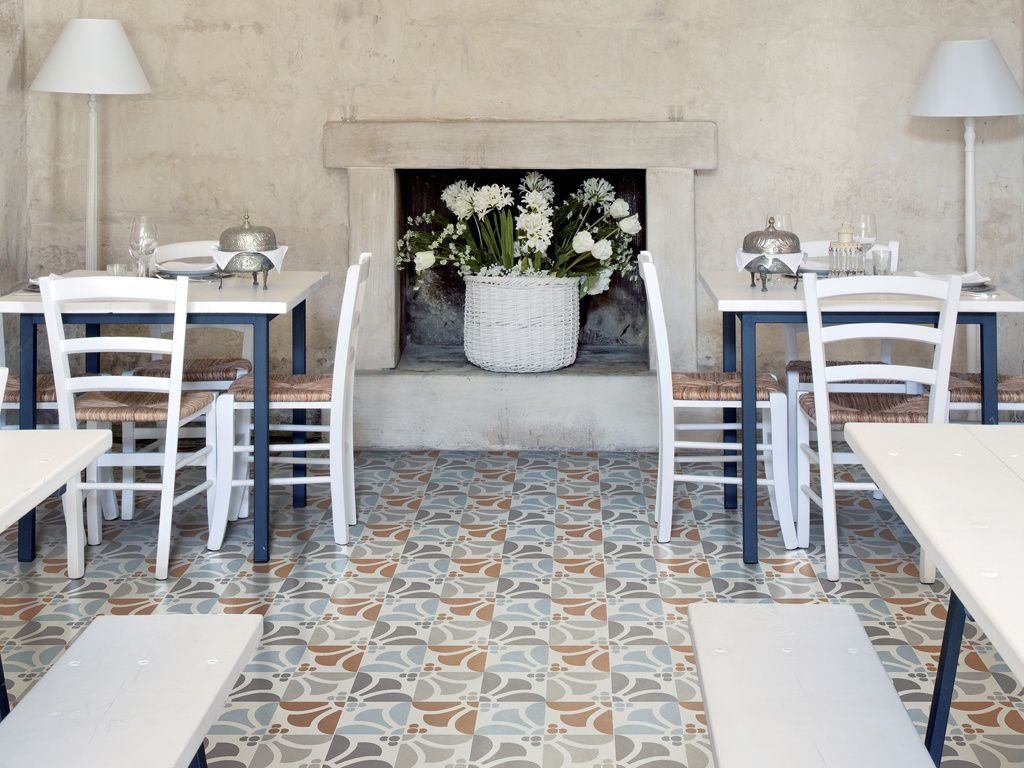 Indoor tile for floors porcelain stoneware floral pattern indoor tile for floors porcelain stoneware floral pattern frame emilia ceramiche refin doublecrazyfo Choice Image