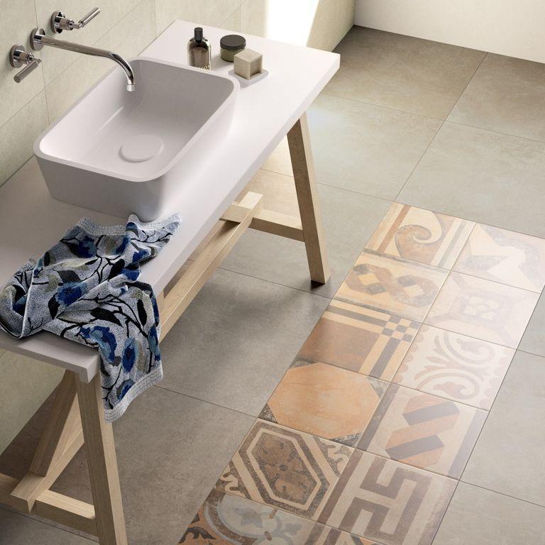 Indoor Tile For Floors Porcelain Stoneware Plain Bricklane