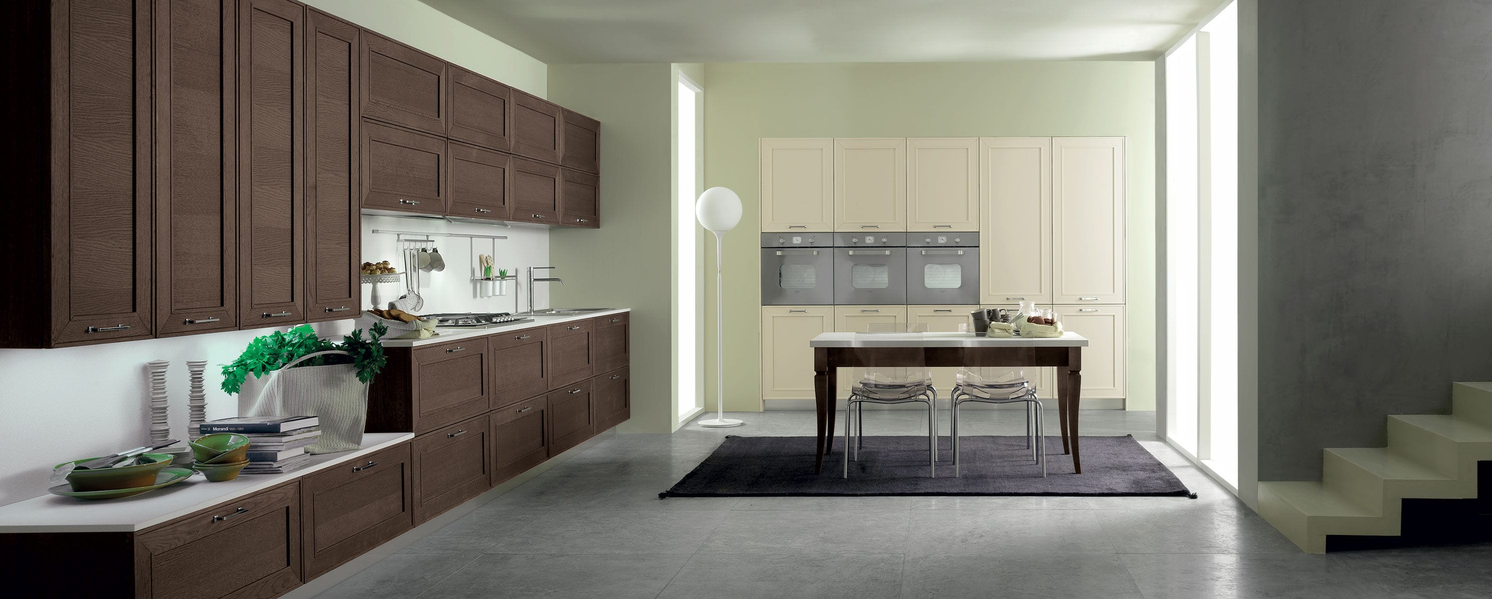 Traditional kitchen solid wood CAPALBIO by Centro Ricerca e