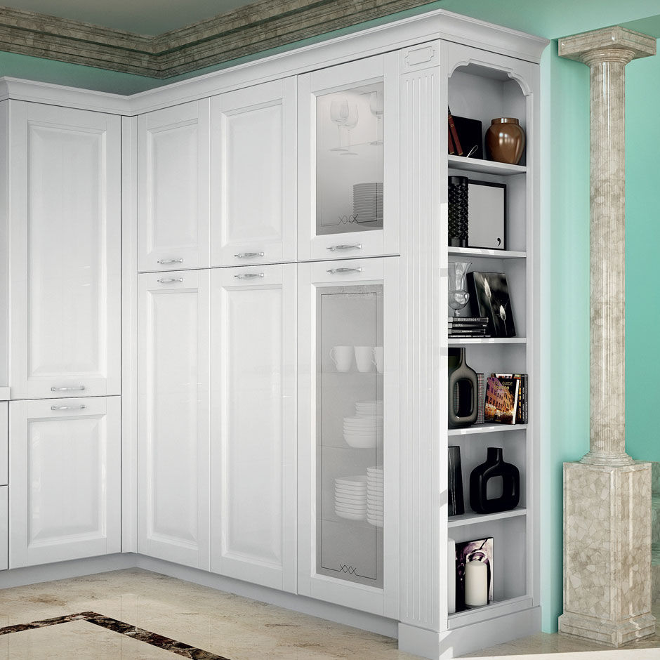 Traditional kitchen / wooden / island / lacquered - DERUTA by Centro ...