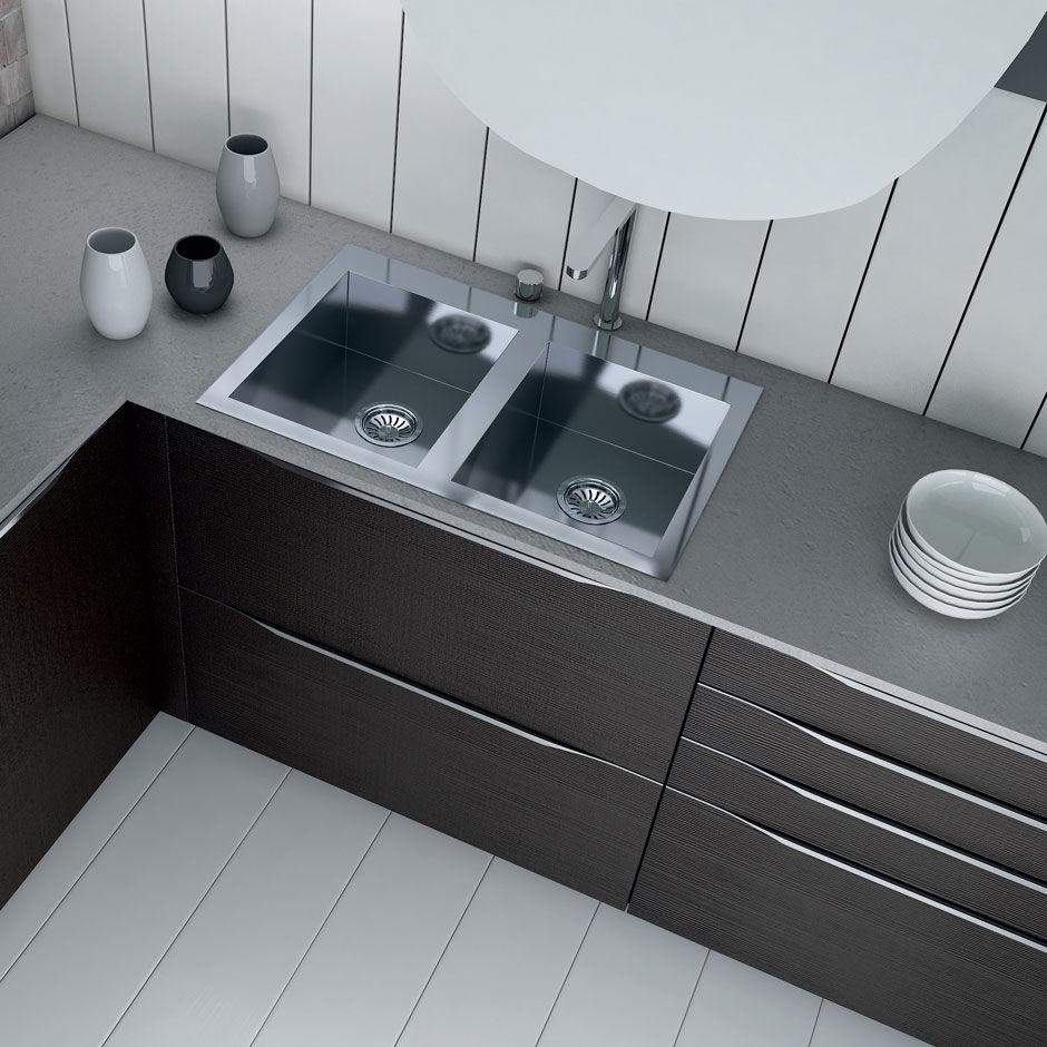 Contemporary kitchen / wood veneer - VALENCIA by Centro Ricerca e ...