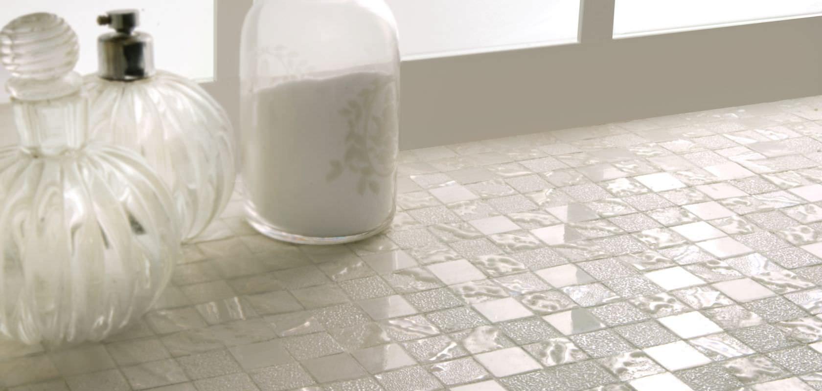 Indoor mosaic tile bathroom floor porcelain stoneware four indoor mosaic tile bathroom floor porcelain stoneware four seasons snow one ceramiche dailygadgetfo Image collections