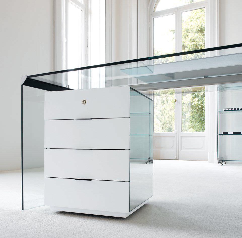 Wooden Office Unit / 4 Drawer / Key Type PRESIDENT Gallottiu0026Radice ...