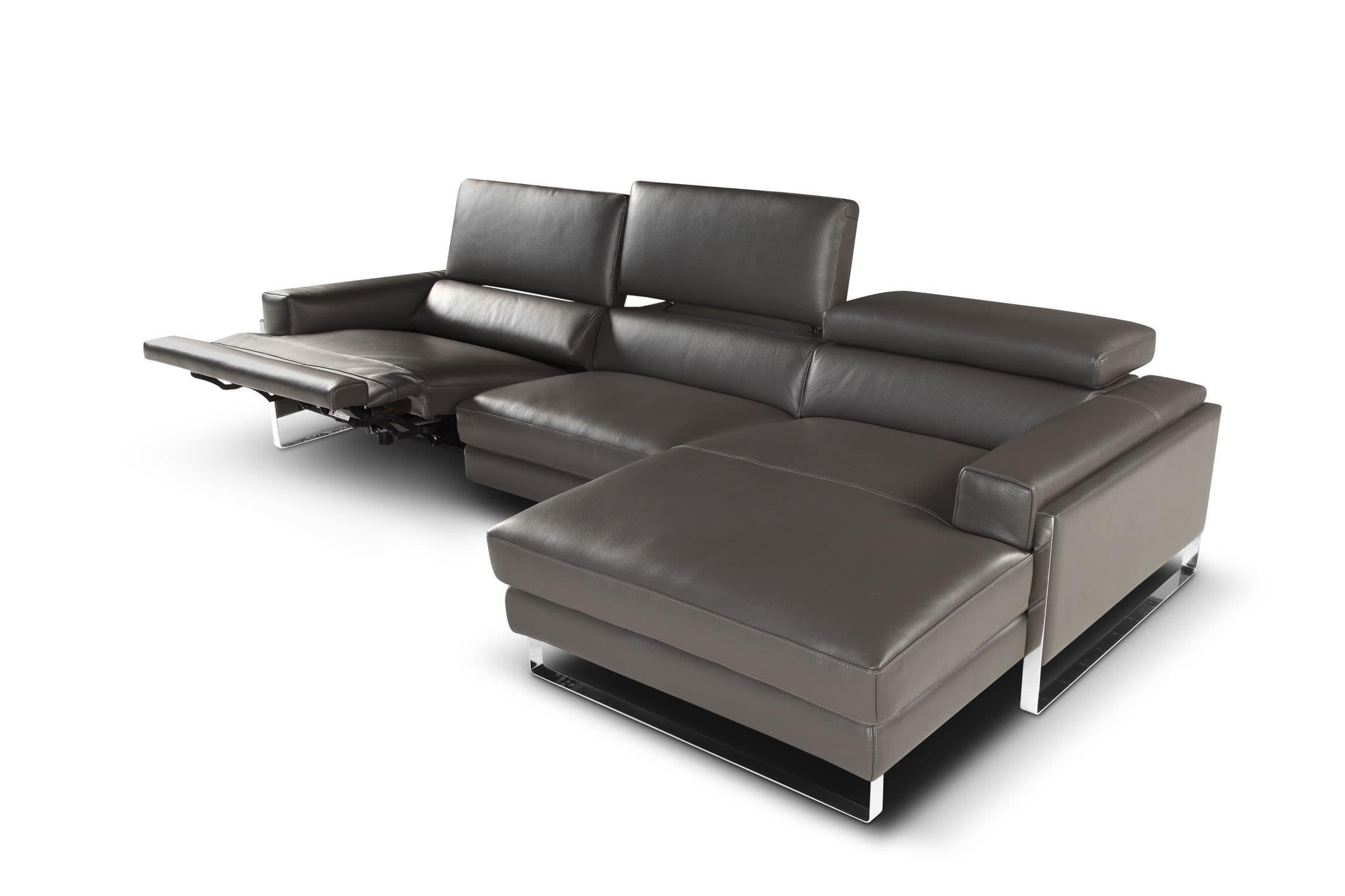Modular sofa original design leather 3 seater ROMEO RELAX