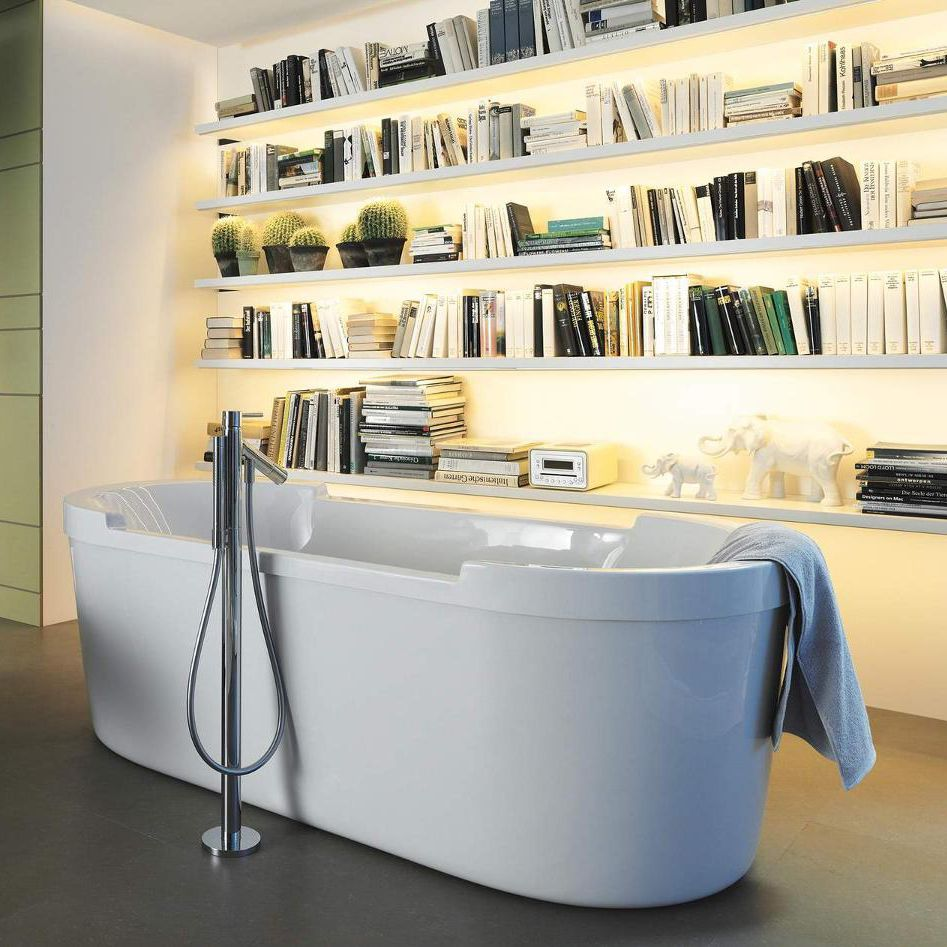 Freestanding Bathtub / Oval / Acrylic / By Philippe Starck ...