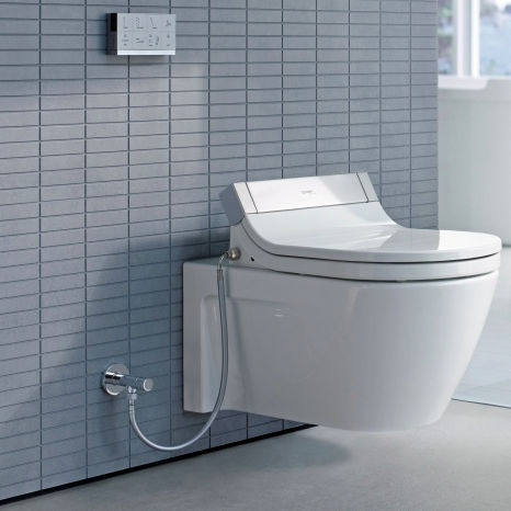 wallhung toilet ceramic by philippe starck duravit