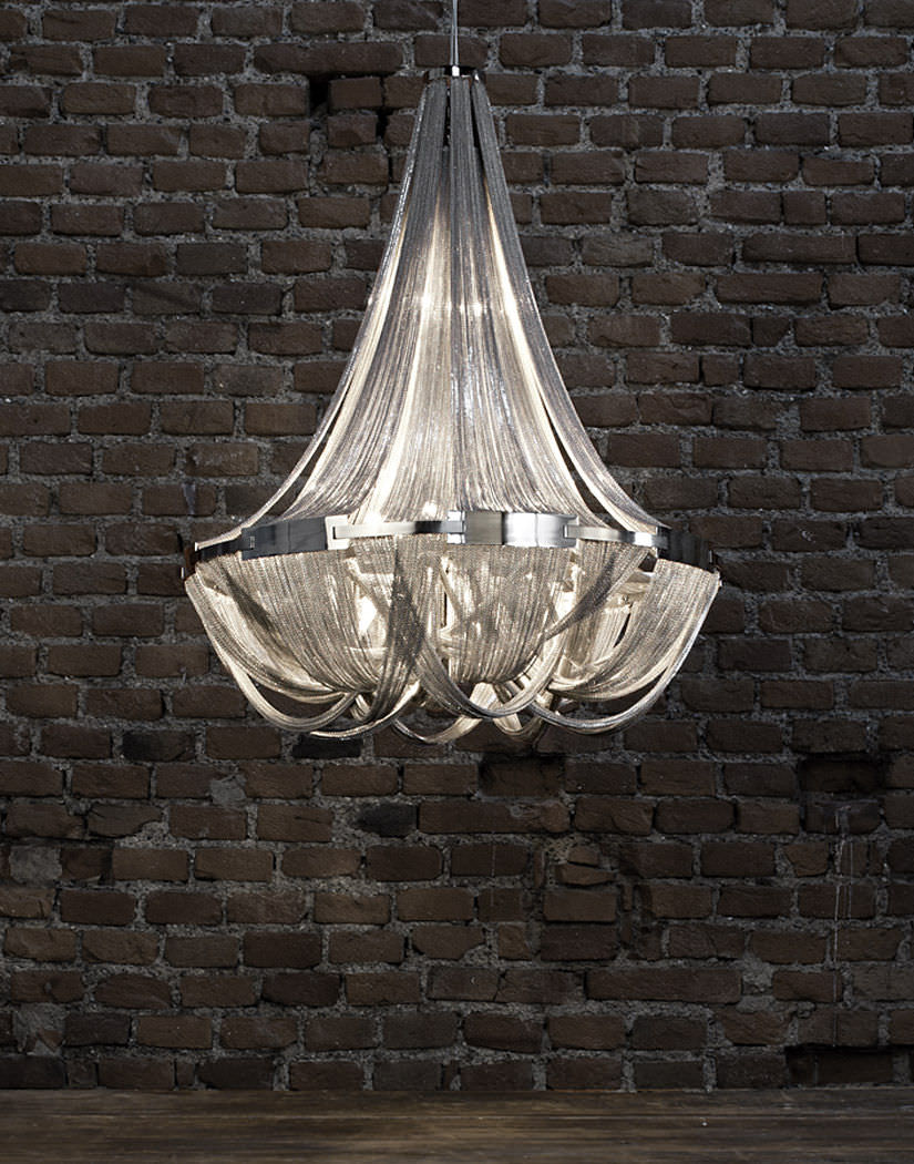 Classic chandelier metal incandescent soscik by nicolas classic chandelier metal incandescent arubaitofo Image collections
