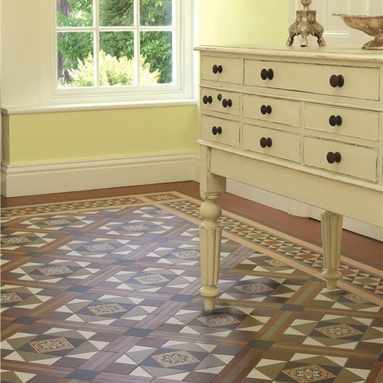 Indoor Tile Floor Ceramic Square Livingstone Original Style