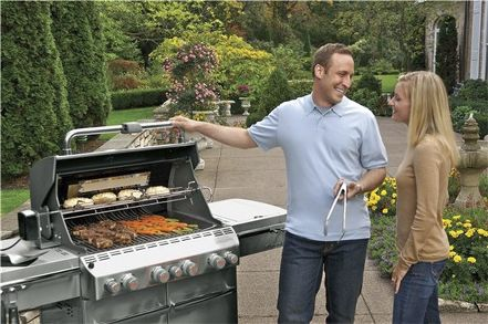 gas barbecue stainless steel commercial summit s470 weber usa - Weber Summit S420