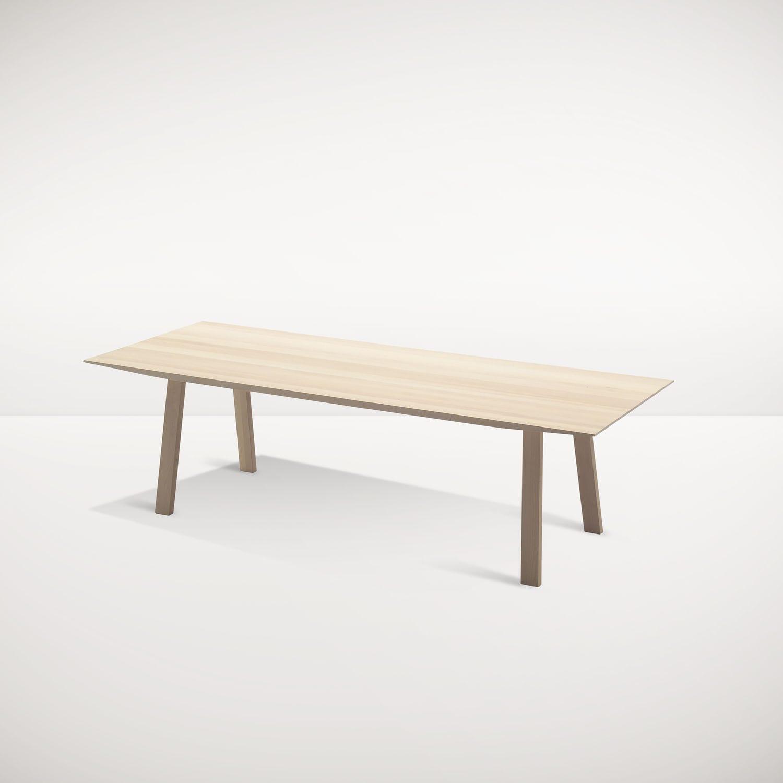 Scandinavian design table oak walnut solid wood WINGS SPEKVA