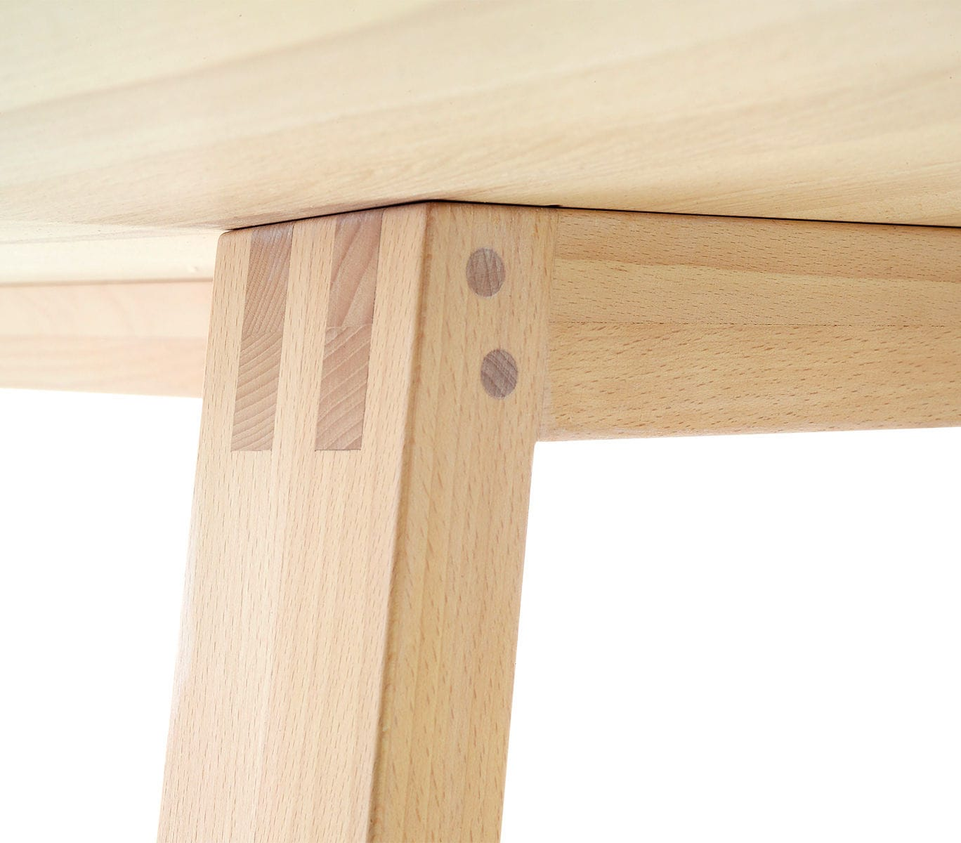 ... Scandinavian design table / oak / walnut / solid wood WINGS SPEKVA