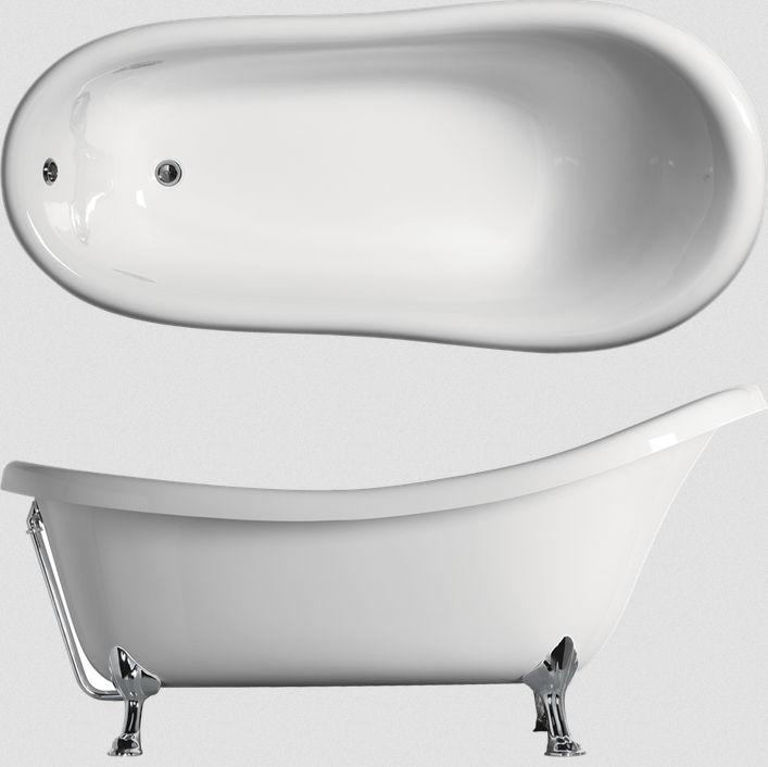 Bathtub With Legs / Oval / Acrylic   CLASSIC: VAL1