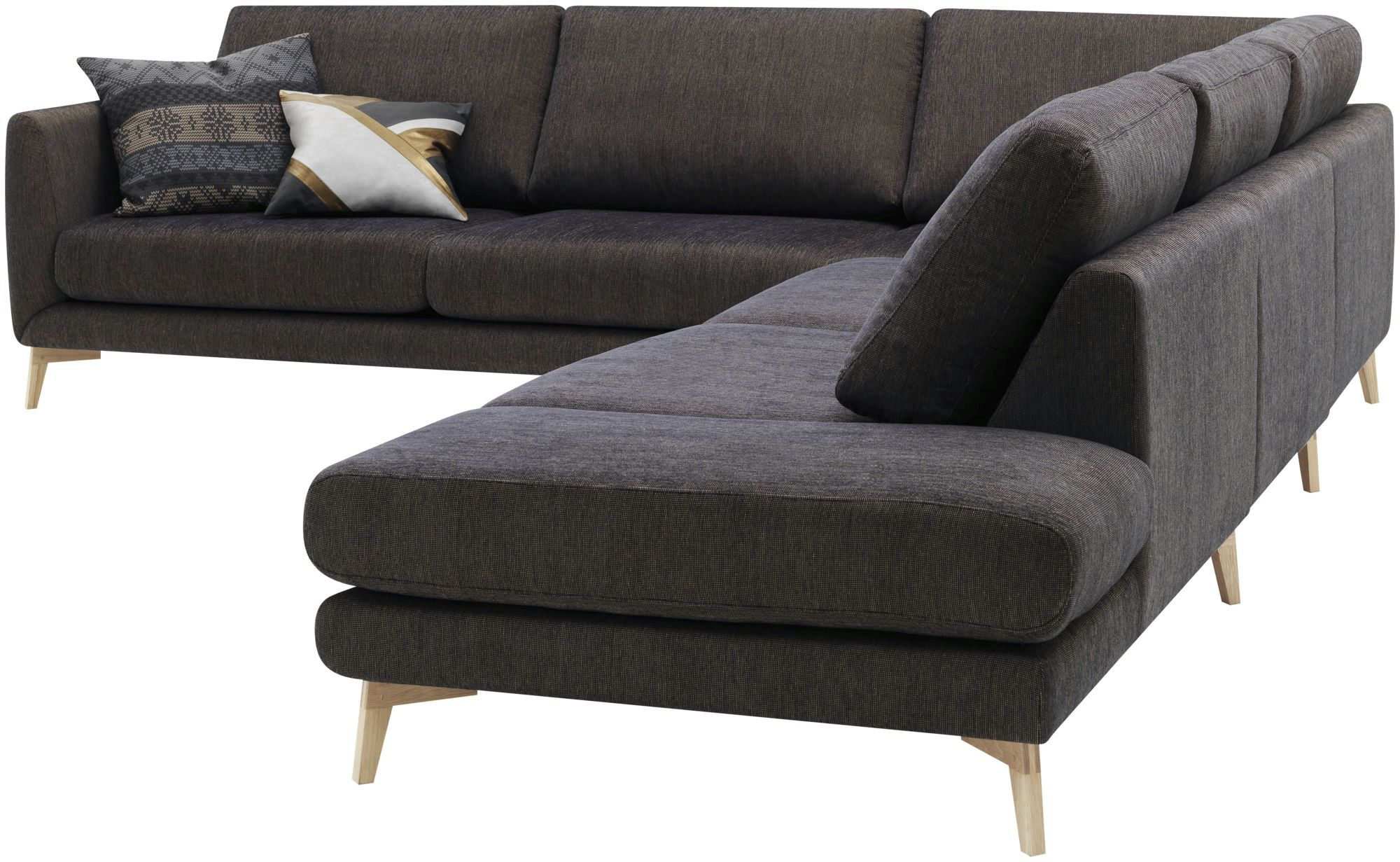 Corner sofa modular contemporary leather FARGO by Anders