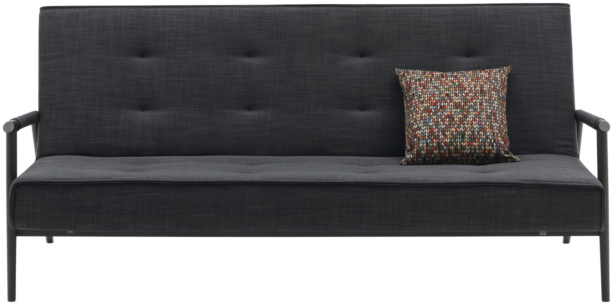Sofa bed contemporary fabric 3seater KYOTO BoConcept