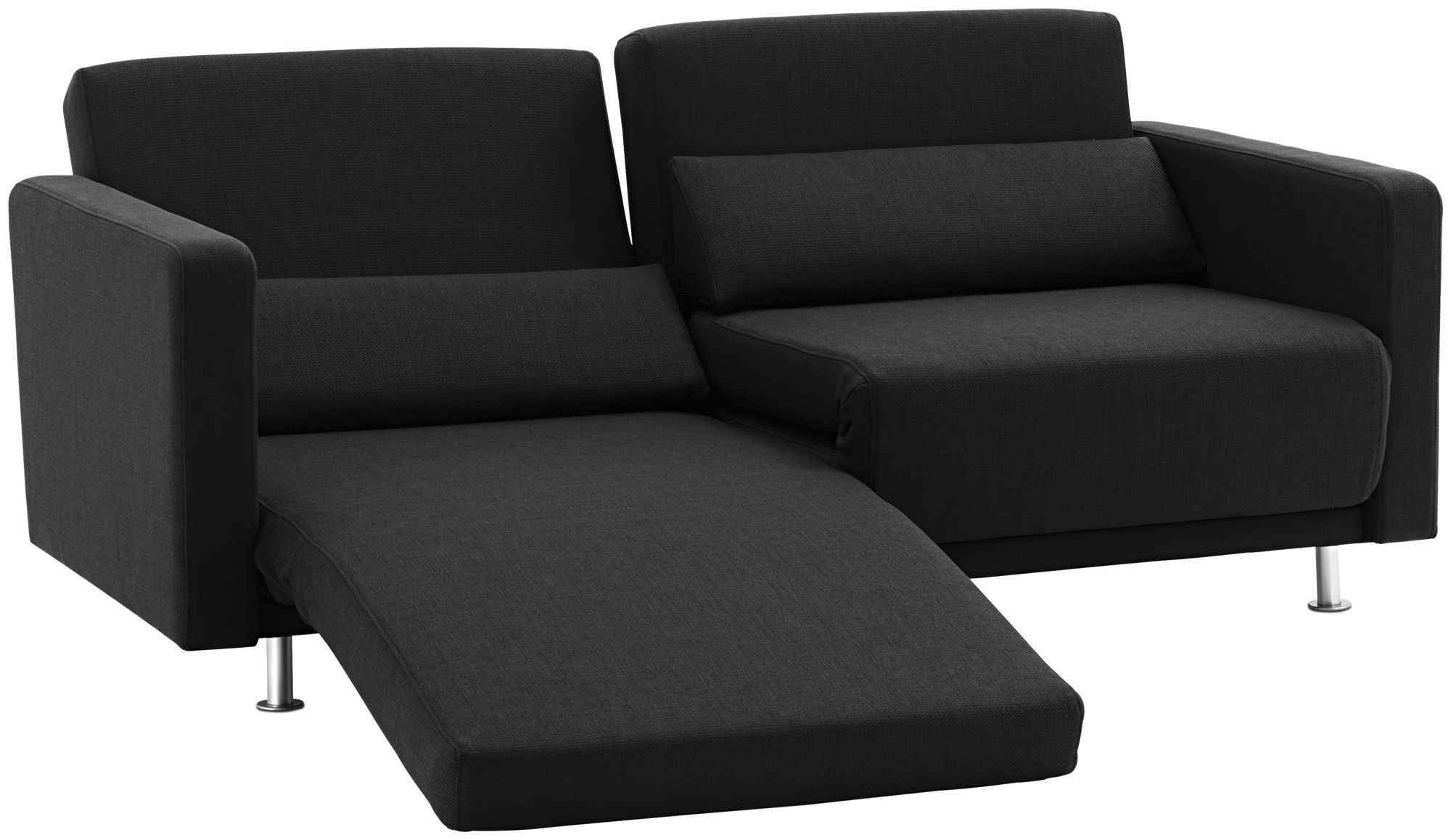 Sofa bed contemporary fabric 2 5 seater MELO BoConcept